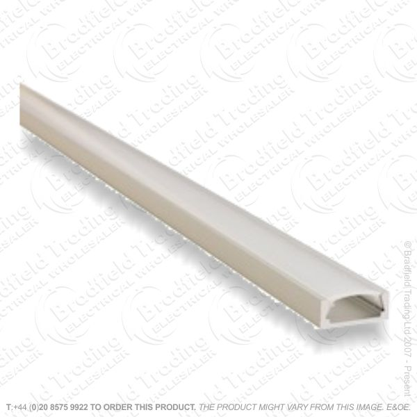 B36) LED Surface Profile 1M Frosted W15 D6