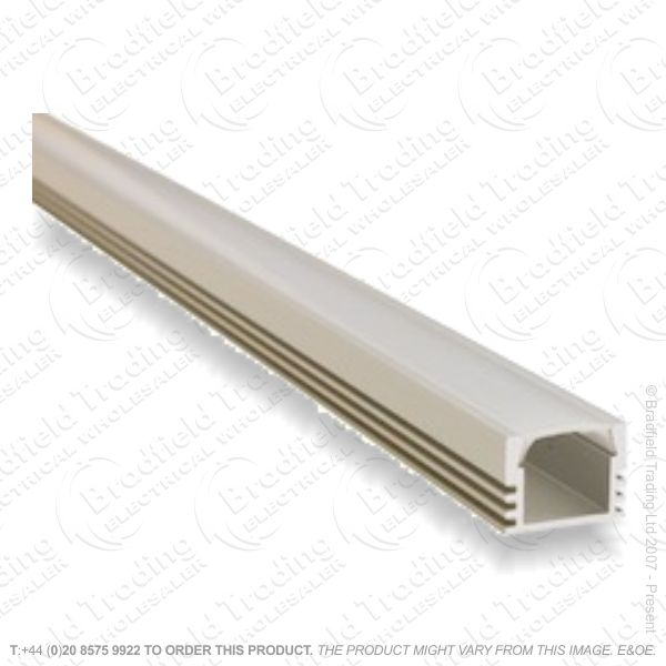 B36) LED Surface Profile 1M Frosted W16 D12