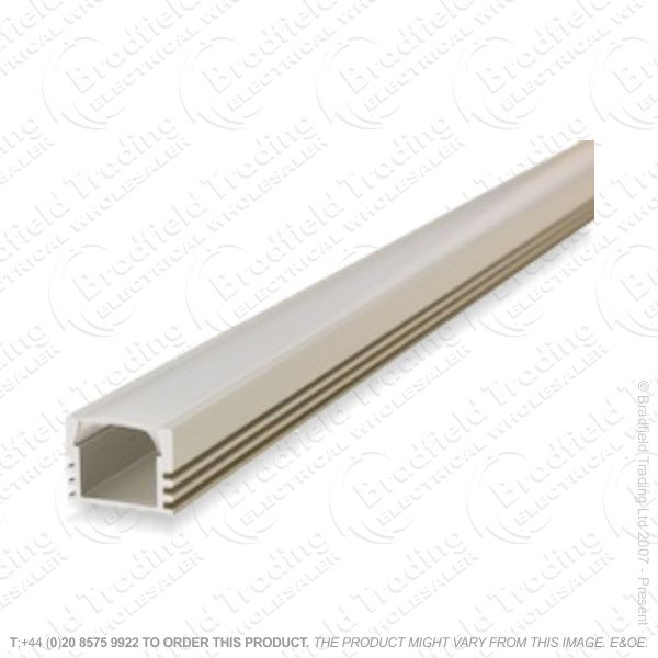 LED Surface Profile 2M Frosted W16 D12