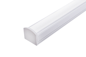 LED Surface Profile 2M Frosted W16 D12 INTEGR