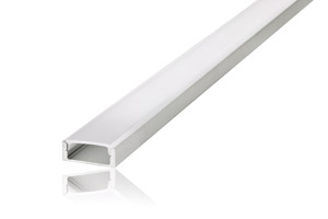 LED Strip Surface Profile 2M Frosted 18mm