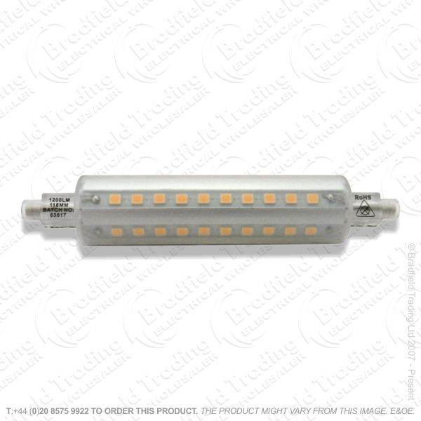 A48) LED 78mm R7s 5.2W 27k 600lm Warm INTEG