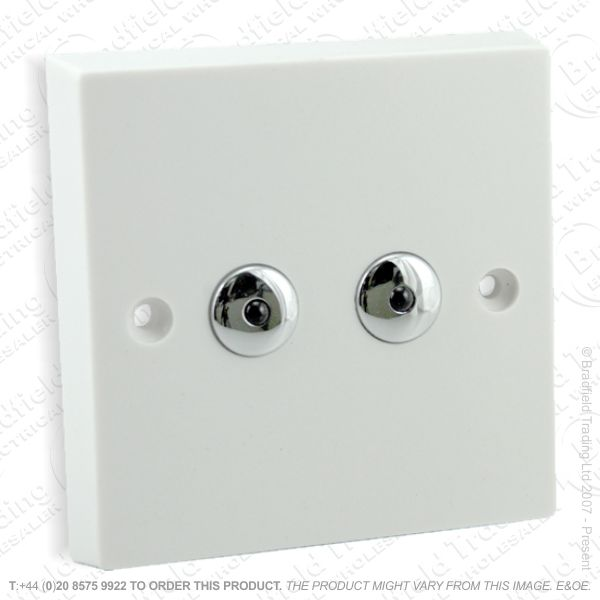 I26) Dimmer Remote 2G 250W whiteVAR