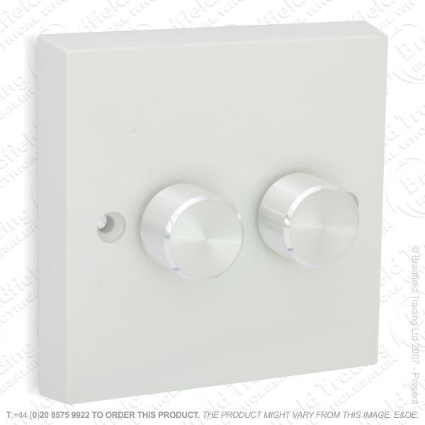 I26) Dimmer PushLV CK 2G 300VA whiteVAR