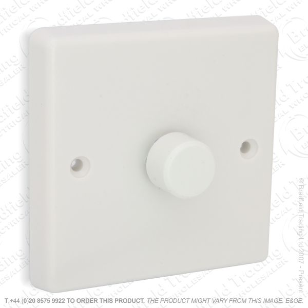 I26) Dimmer PushLV WK 1G 400VA white VAR