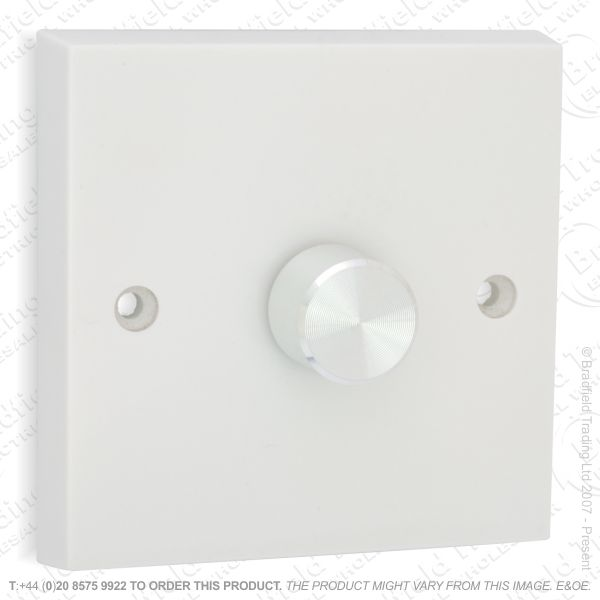 I26) Dimmer PushLV CK 1G 400VA whiteVAR