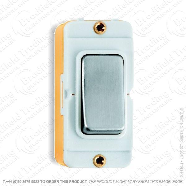 I45) Grid Switch SatinChrome WI 2w 20A