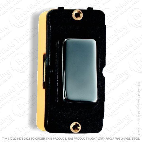 Grid Switch Black Nickel 2w 10A BI
