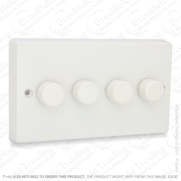I26) Dimmer Push LED 4G 2w 300VA white VAR