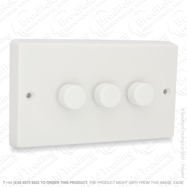 I26) Dimmer Push LED 3G 2w 300VA white VA