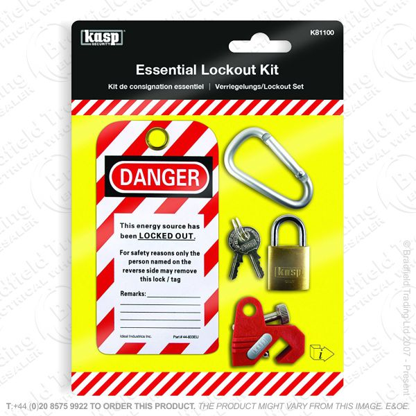 G53) Esential MCB Electrical Lockout Kit Kasp