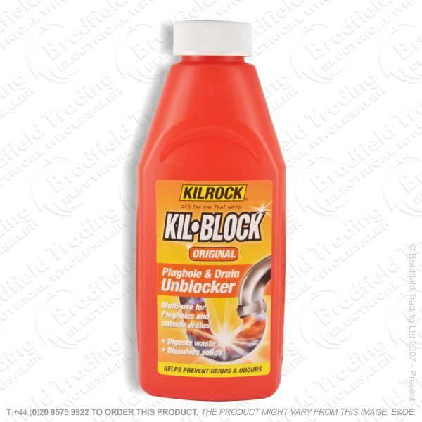 C22) Cleaner Drain Unblocker 500ml KIL