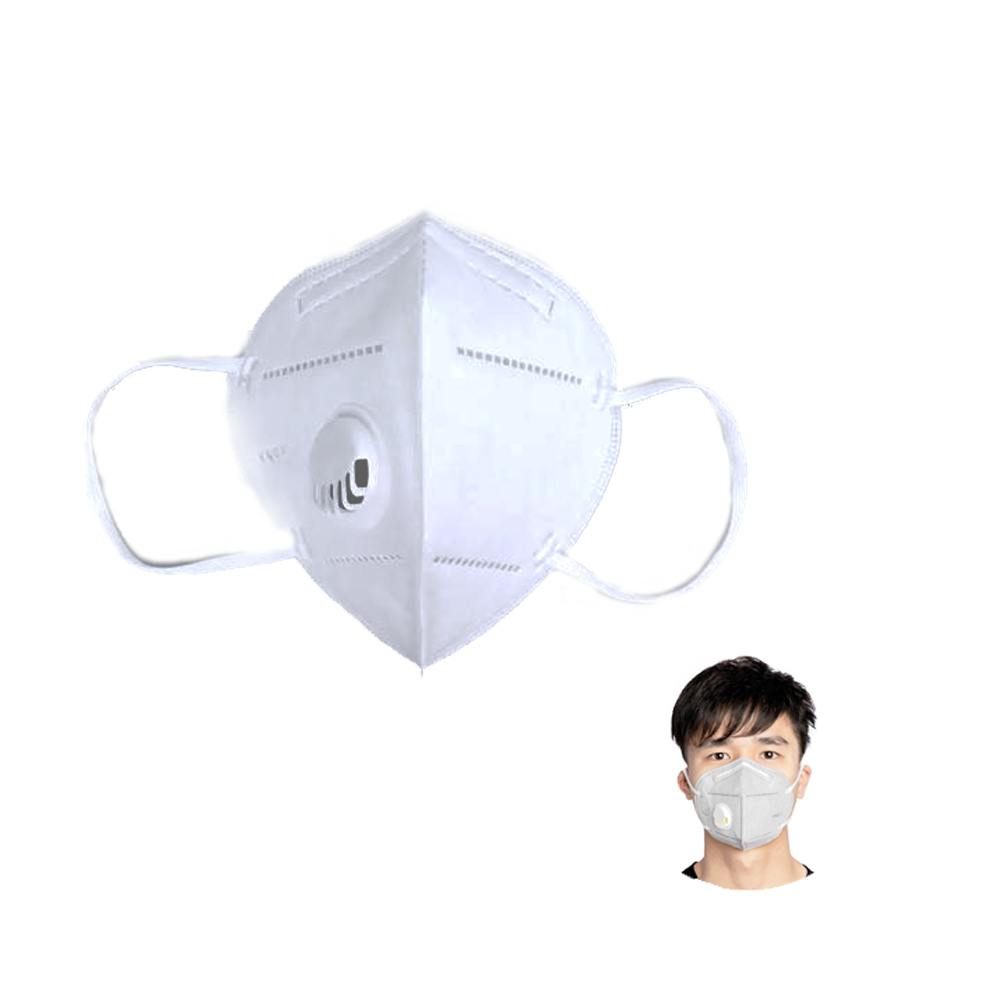 Folding Disposable Mask With Valve Pk1