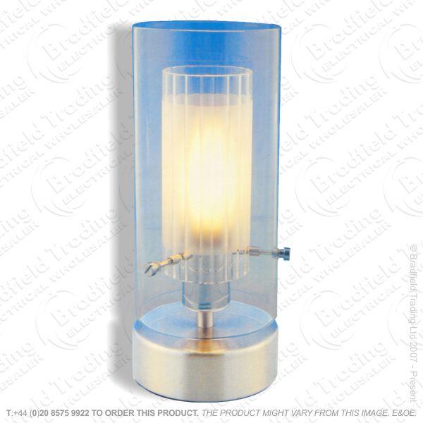 B11) Table Light Touch brush chrome245mm