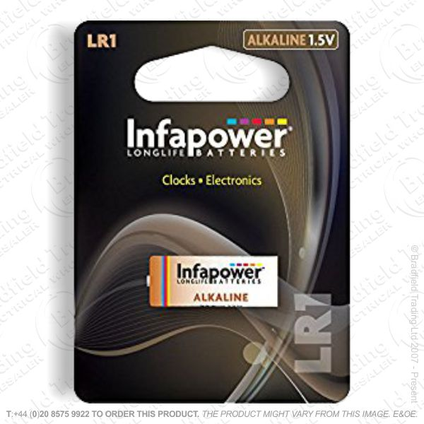 E07) Battery LR1 Size N 1.5V INFAPOWER