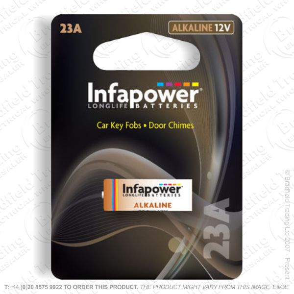 E07) Battery E23A 12V INFAPOWER