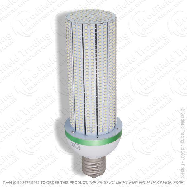 A49) 40W E27 Cap Corn LED 6000k Bulb