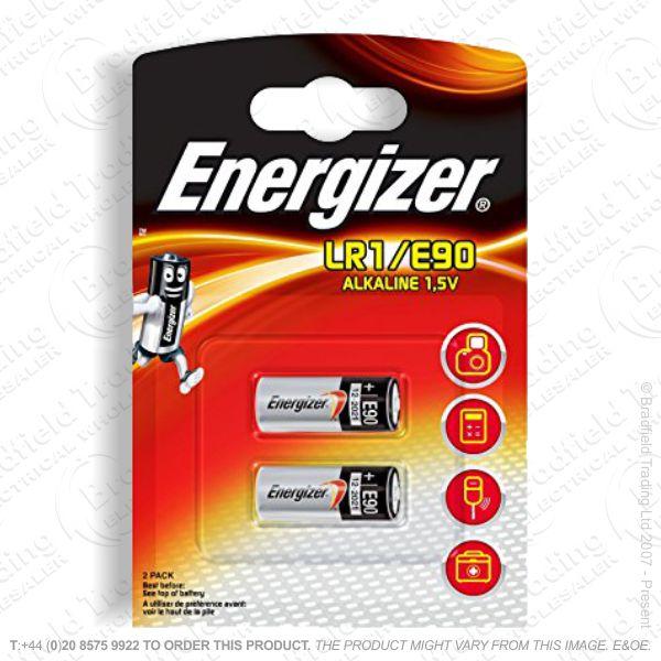 E07) Battery N Size 1.5V Pk2 Duracel LR