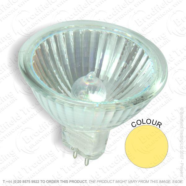 A53) DichCol MR16 GU5.3 12V 50W 13d Amber