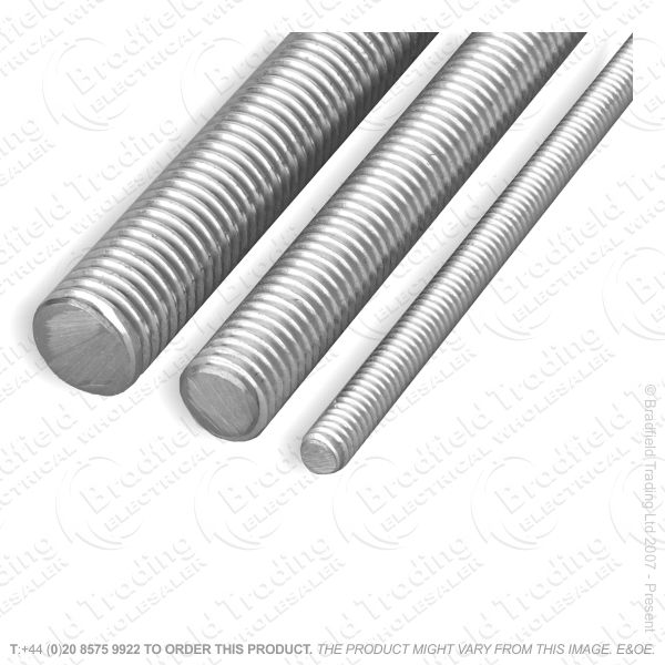 M6 Threaded Rod 1M BZP