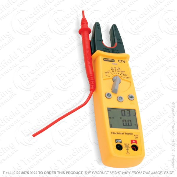 Clamp Multimeter AC/DC Tester ET4 MART