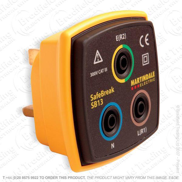 G52) Socket Adaptor Safebreak Test