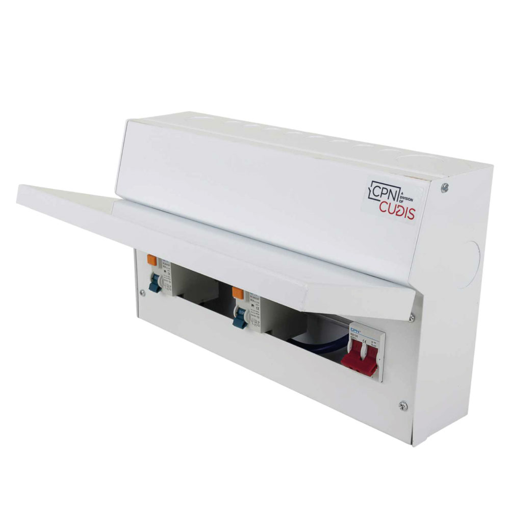 Consumer Unit 2x 100A RCD 12way Loaded CPN