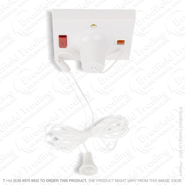 Switch Ceiling DP 50A 1w white MK
