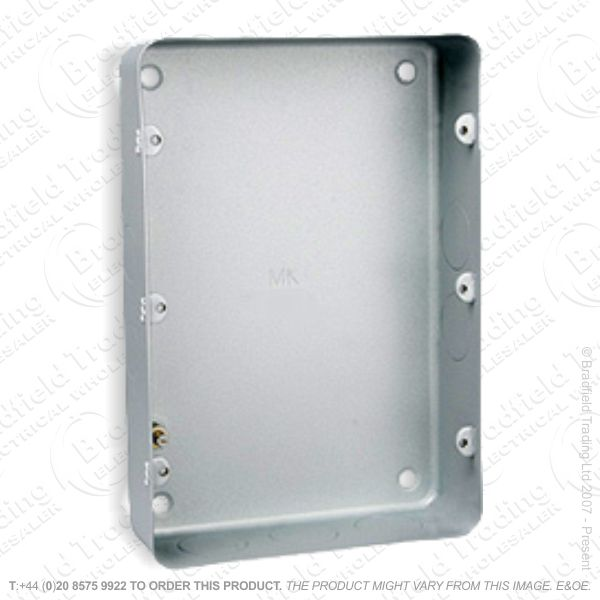 H22) Metal Back Box 12G Flush MK