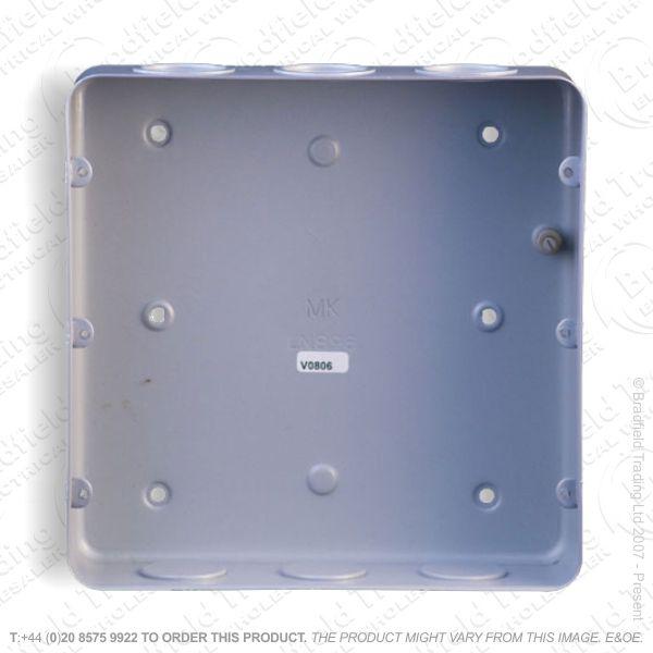 Metal Back Box 18G Flush MK