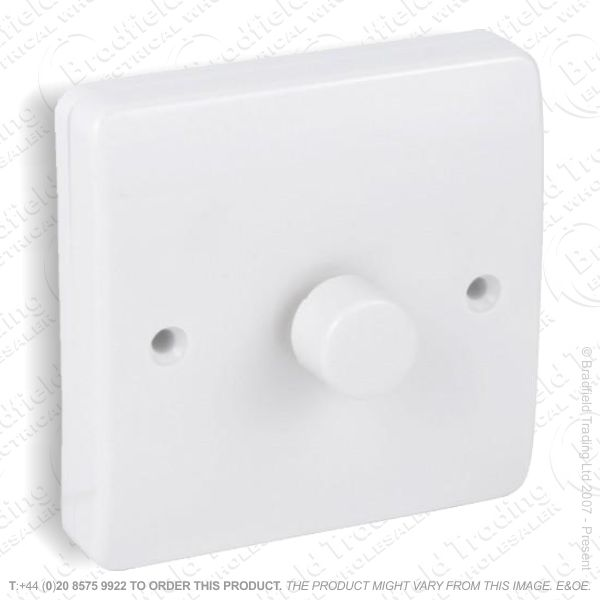 LED Dimmer Switch 1gang 2Way white MK