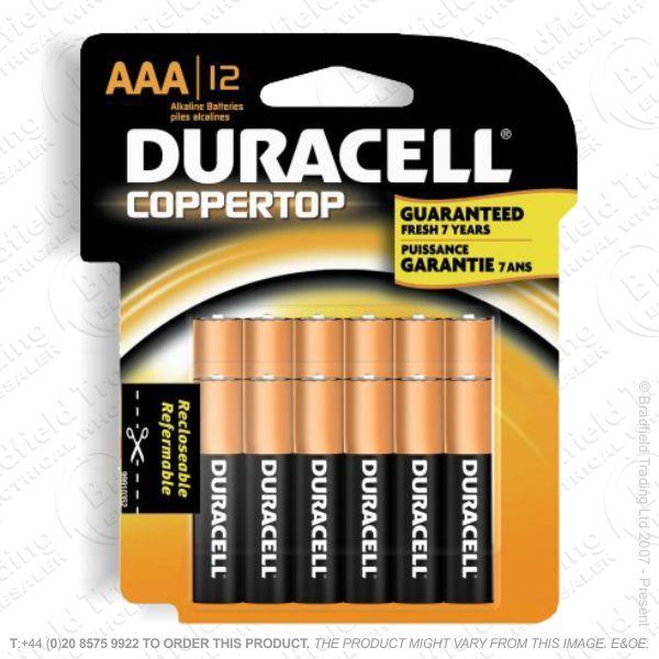 Battery AAA 1.5v Basic DURACELL