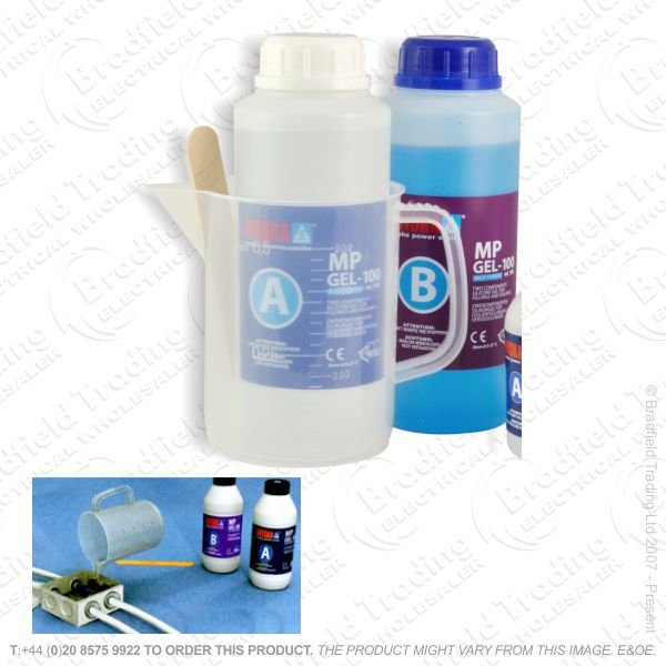 H13) Magic Insulating Gel 2x0.5L Liquid WISKA