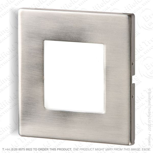 B26) Ressed LED Wall Light 1W White