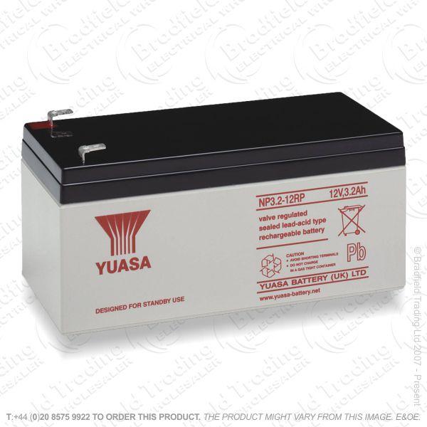E12) Yuasa Battery NP3.2-12 12V 3.2Ah