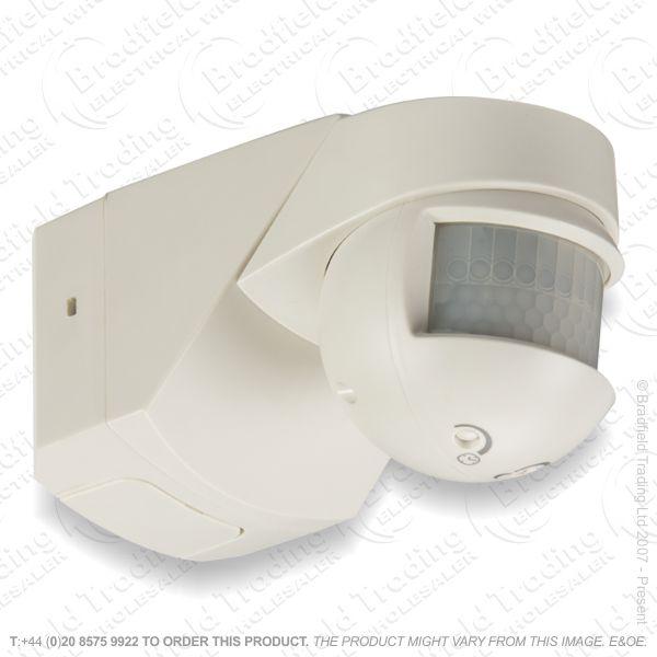 PIR 200* Sensor Infra Red LED Wh IP55