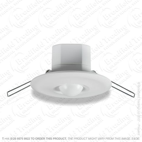 PIR Microwave Recessed 360* 10m Ceiling