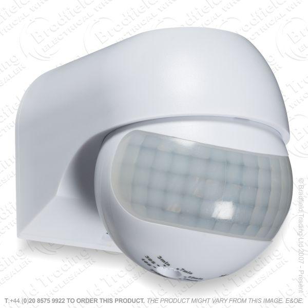 PIR 180* Sensor Mini LED Wh Knis