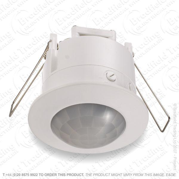 PIR Sensor Flush Recessed 360* 6m Ceilin
