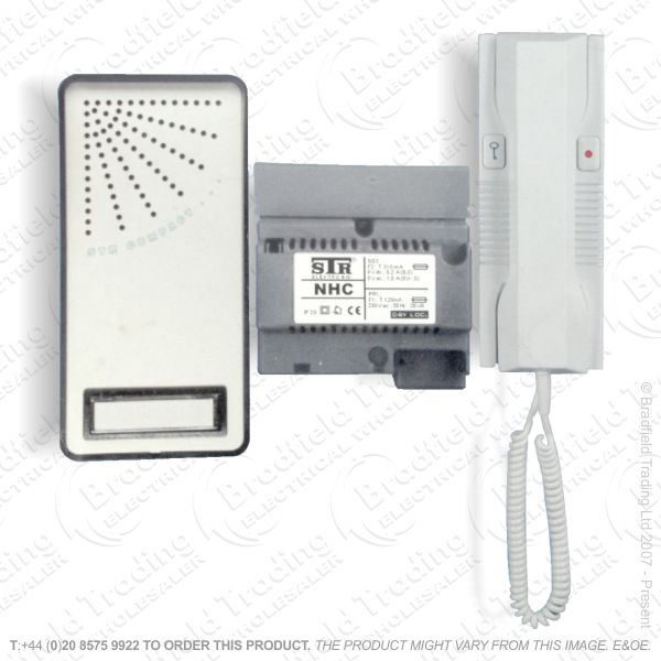 E36) Doorphone Entry Kit 1w Intercom