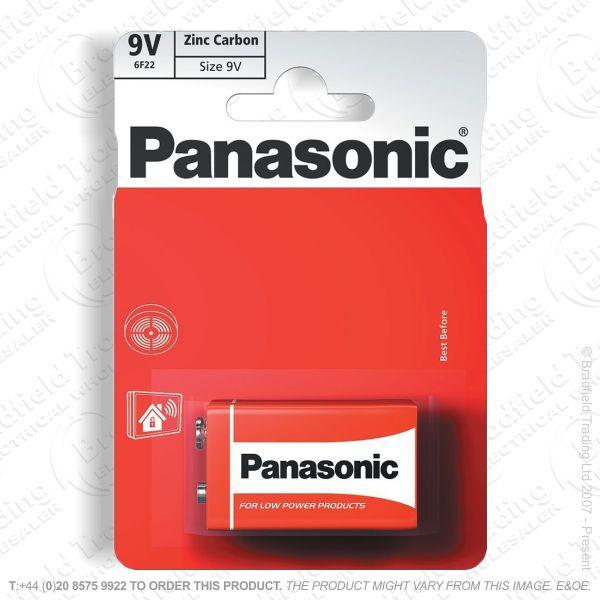 E06) Battery  9v Zinc Special (B12x1) PAN