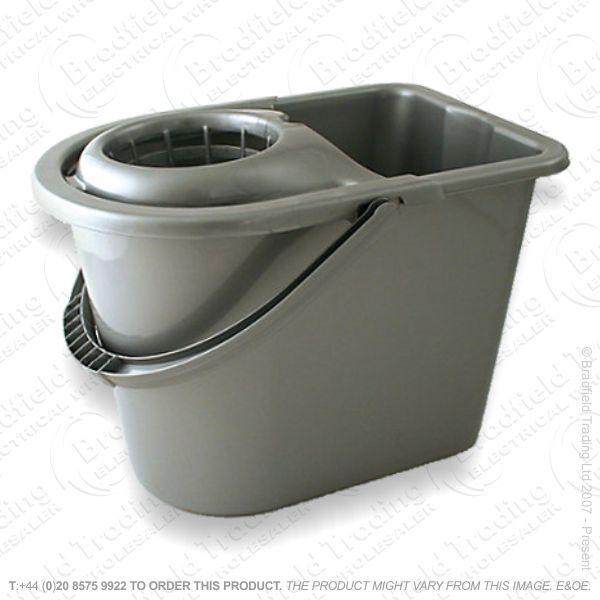 C24) Mop Bucket Silver HARRIS
