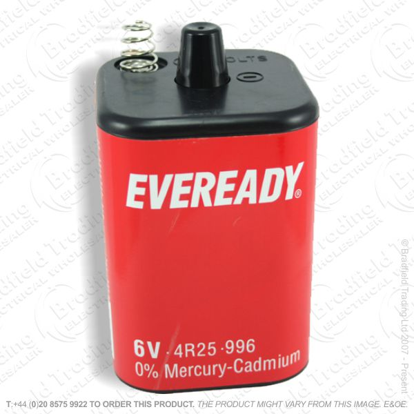 E07) Battery PJ996 6v Eveready 4R25