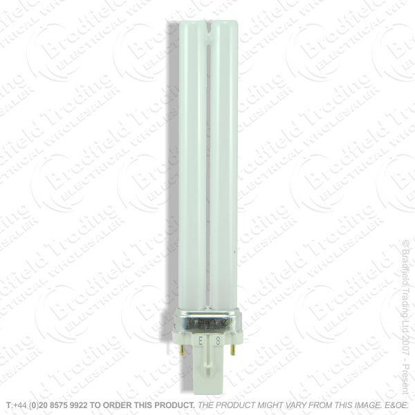 A61) PLS c827 2pin G23 5W w/white CROM/SI