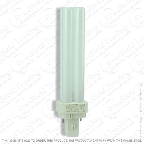 A62) PLC c827 2pin G24d-1 10W Warm White