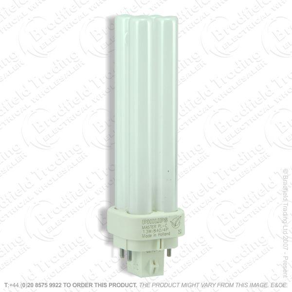 A62) PLC c835 4pin G24q-1 13W white GE