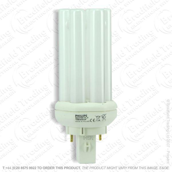 A63) PLT c865 2pin GX24d 18W daylight GE