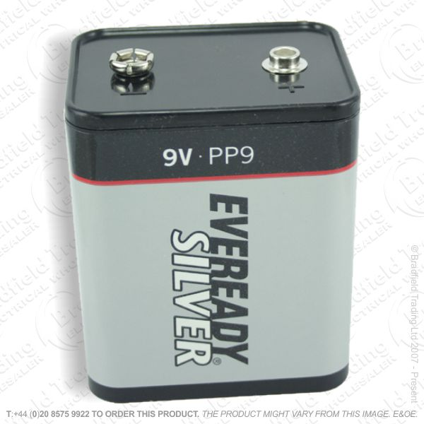 E07) Battery PP9 9V EVEREADY