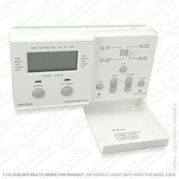 I11) Central Heating Timer 24Hr 7Day GRASSLIN