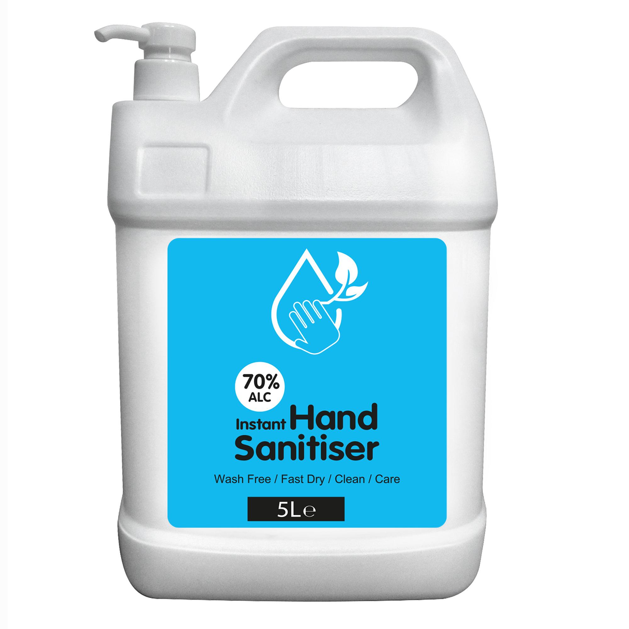 Instant Hand Sanitiser 5L Refill